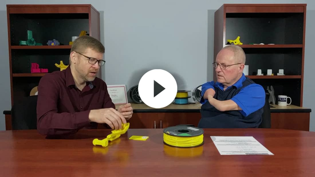 Click here to watch a video about Tough PLA